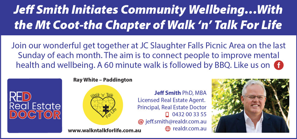 Walk 'n' Talk For Life - Jeff Smith