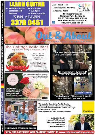 Out & About Magazine: Winter/Spring/Summer 2019, Area B