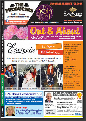Out & About Magazine: Spring/Summer 2016, Area B