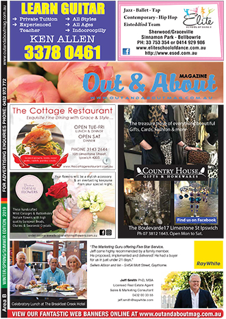 Out & About Magazine: Winter//Spring/Summer 2019, Area B